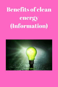 clean energy (Information)