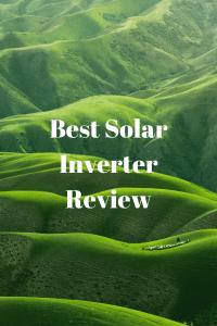 Solar Inverter Review