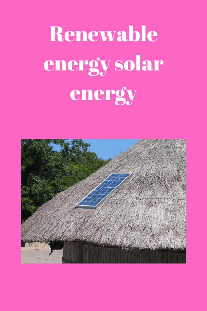 energy solar energy