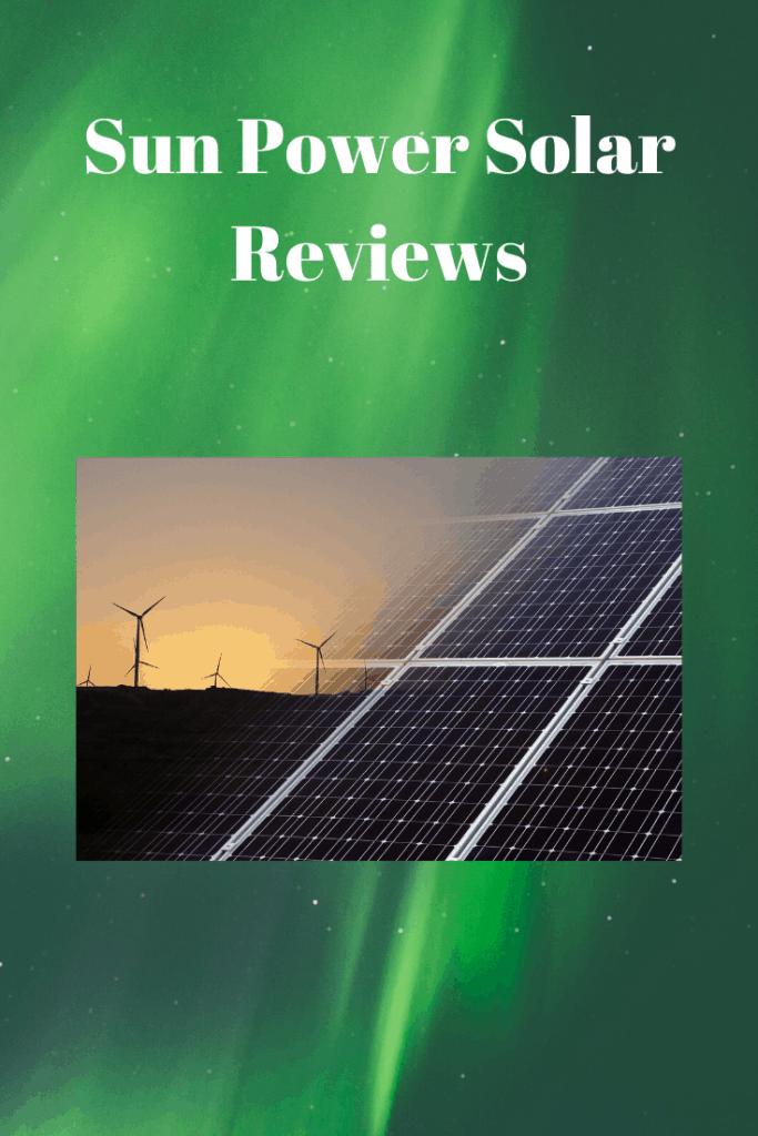 Sun Power Solar