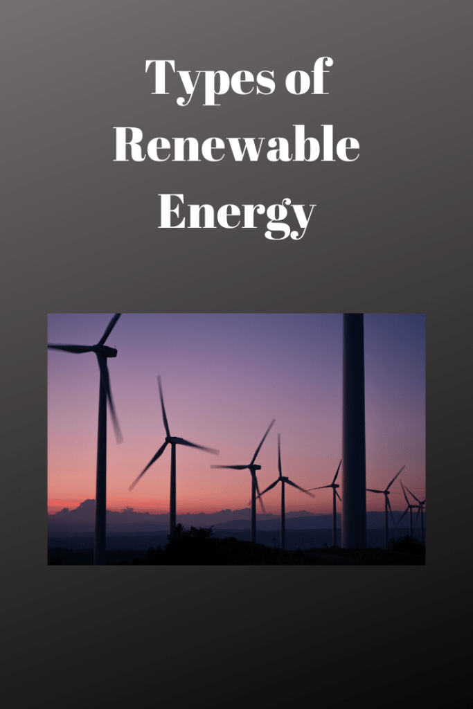 Types of Renewable Energy wind