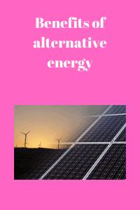 Benefits of energy