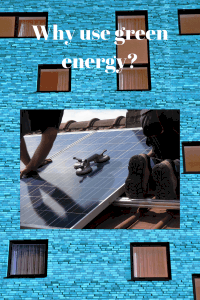 Why use green energy