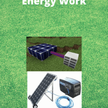 work to produce electricity
